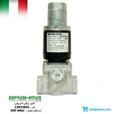 شیر گاز تدریجی EG12*L برهما Brahma - اتصال 1/2