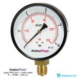 مانومتر 10 بار خشک عمودی صفحه 10 سانت InstruMate مدل 111.10.100