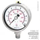 مانومتر استیل InstruMate صفحه 10 سانت عمودی مدل 113AA