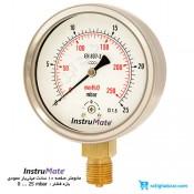 مانومتر میلی بار InstruMate صفحه 10 سانت مدل 122AA