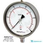 مانومتر تمام استیل InstruMate صفحه 16 سانت عمودی مدل 113AA