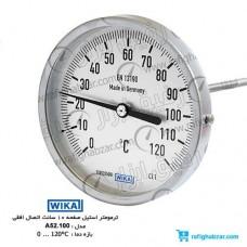ترمومتر تمام استیل ویکا WIKA مدل A52.100