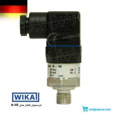 ترنسمیتر فشار ویکا WIKA مدل A-10