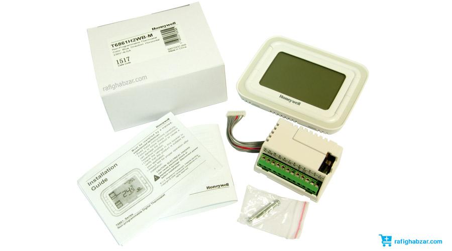 ترموستات دیجیتال Honeywell مدل T6861 با قدرت خروجی 6 آمپر