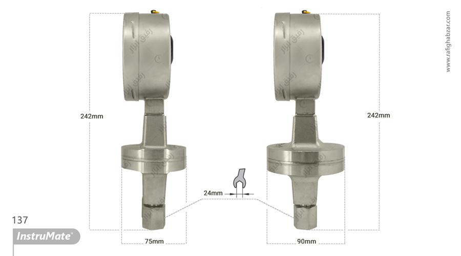 گیج اختلاف فشار InstruMate مدل 732.51.100